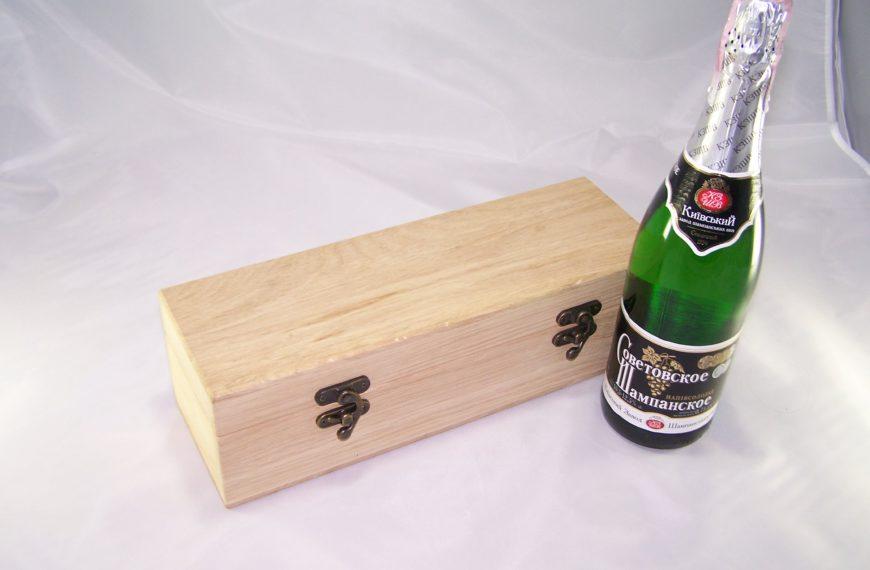 Заготовка-футляр для винной бутылки, одиночный 1820